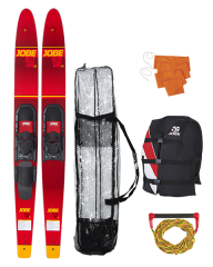 Allegre 67″ Combo Waterski Package Red JOBE — Воднолыжный комплект
